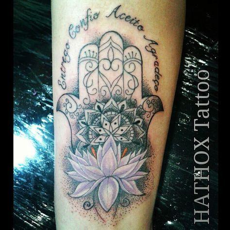 Tattoo Hamsá / Mão de Fatima #hamsa #mandala #handofgod ...