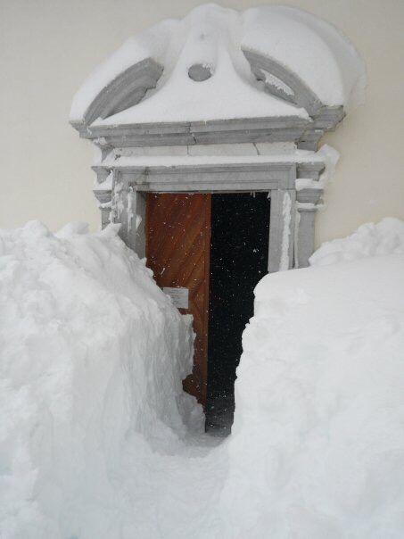 Lussari, Tarvisio snow 2009