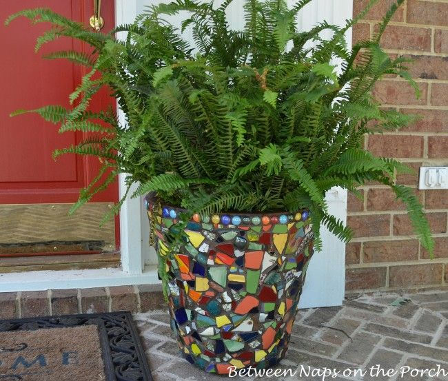 25 Unique Mosaic Flower Pots Ideas On Pinterest Mosaic