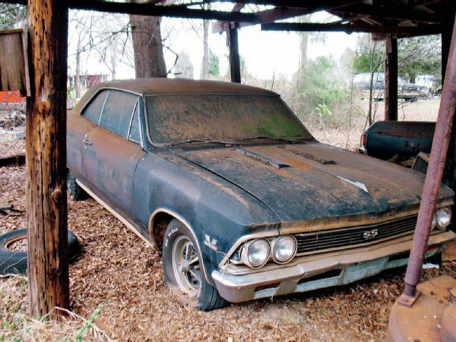 1966 Chevrolet Chevelle Ss396 Rare Finds Wish List
