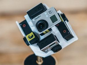360 Degrees of the Coolest Video You'll See Today – 3D Printed Go Pro Camera Mount | 3D Printer World