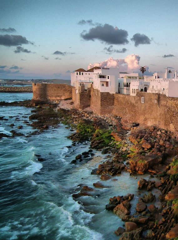 asilah, morocco | villages and towns in africa + travel destinations #wanderlust