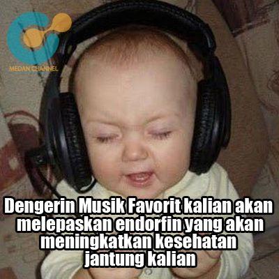 Dengarin Musik Itu Penting ..