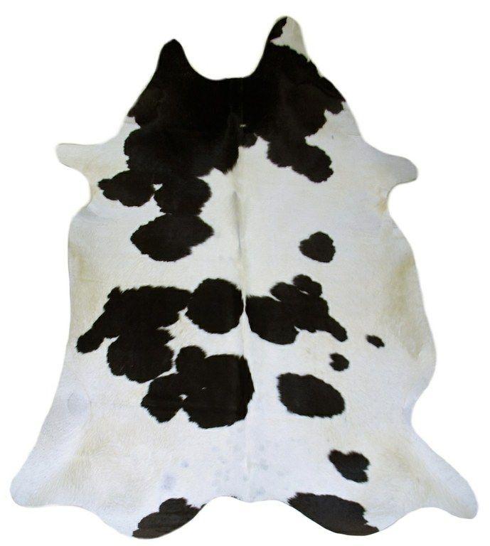 17 meilleures id es propos de tapis en peau de vache sur - Tapis peau de vache noir et blanc ...
