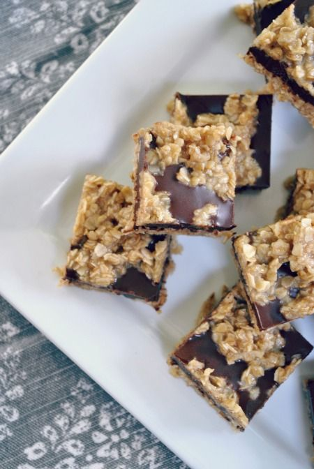 No Bake Chocolate Oat Bars (use gf oats) | Gluten Free Cookies | Pint ...