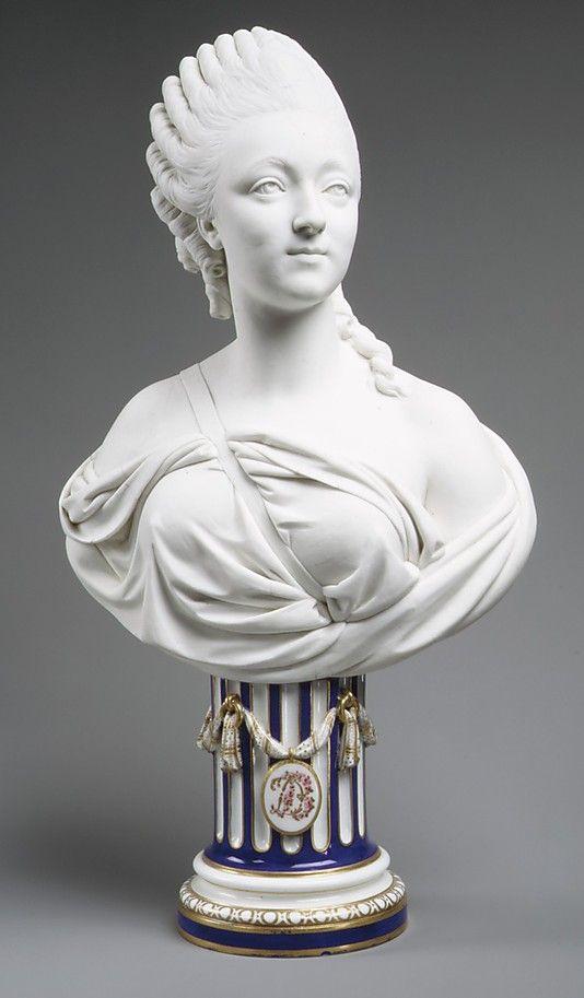 Madame du Barry (1746–1793), Sevres Manufactory, Biscuit Porcelain, 1772