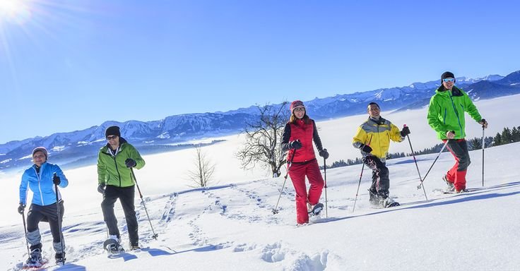 Schneeschuhwandern in Reit im Winkl