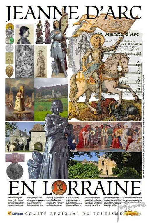 Jeanne d'Arc (1412-1431) ~ I'd really like to someday go to Lorraine, especially to Domrémy-la-Pucelle, Joan of Arc's hometown.