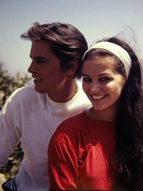 Alain Delon and Claudia Cardinale ~ Check out for more pins: https://www.pinterest.com/neno3777/alain-delon/