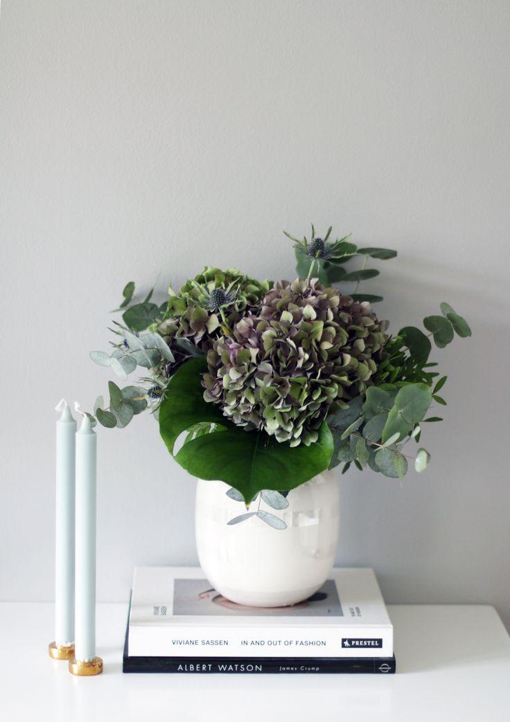 Inred ditt hem med vackra hortensiabuketter!