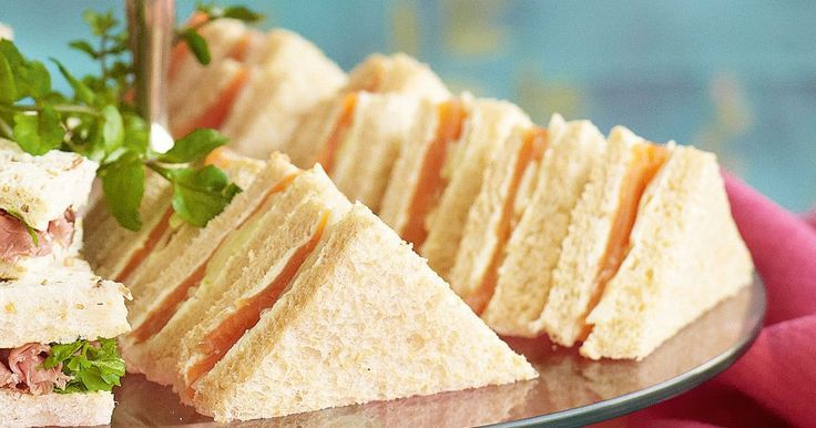 Indulge in a time-honoured tradition and devote an afternoon to high tea - complete with bite-size sandwiches!
