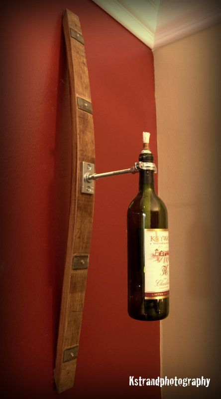 Wine Barrel Garden Torch by WineyGuys on Etsy, $36.00
