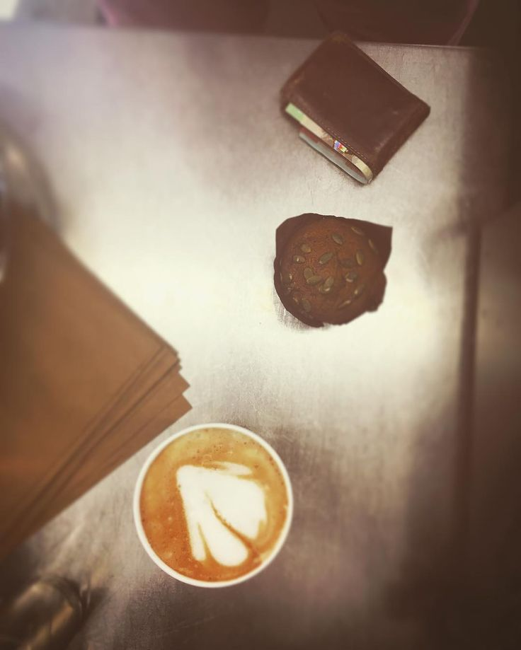 Try our Pumpkin Spice Latté & Pumpkin Muffin  Ghost may or may not appear in latté.