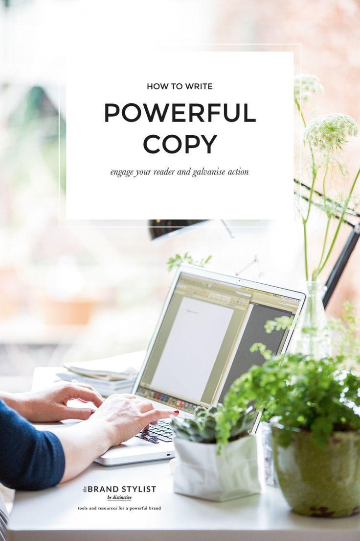 How to write powerful copy – The Brand Stylist