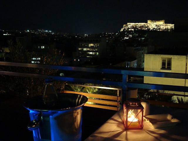 Fresh Hotel's View of Acropolis by Murgys, via Flickr