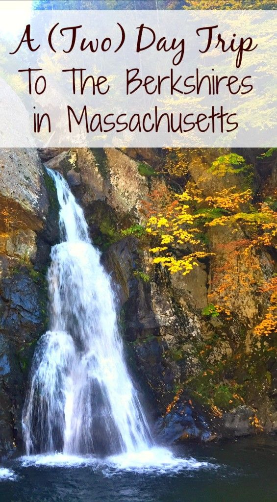 Travel to the  Berkshires in Massachusetts. Great Barrington, a small town in the Berkshires, is perfect for a fall road trip from NYC.