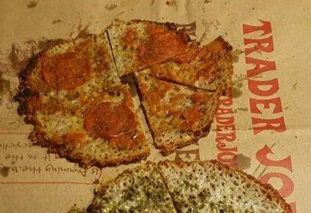 Personal Crustless Pizza
