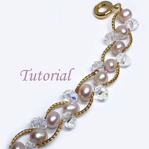 Beaded Pearl Bliss Bracelet Tutorial