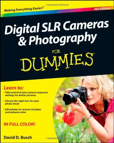 Digital SLR Cameras and Photography For Dummies by David D. Busch http://www.amazon.com/dp/1118144899/ref=cm_sw_r_pi_dp_8Lkjub14EY9XN