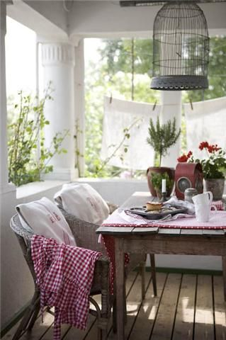 Country Porch..