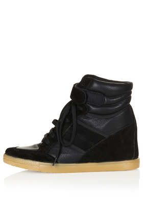 AEROBIC2 Hi Top Wedge Trainers - Hi-Top Trainers - Boots  - Shoes