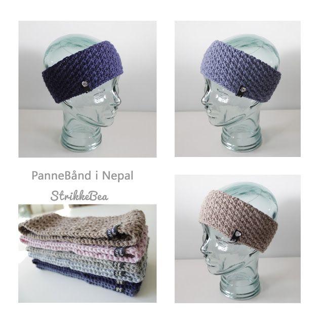 3 pannebånd til som ble ferdige i dag.   Nepal, str. onesize