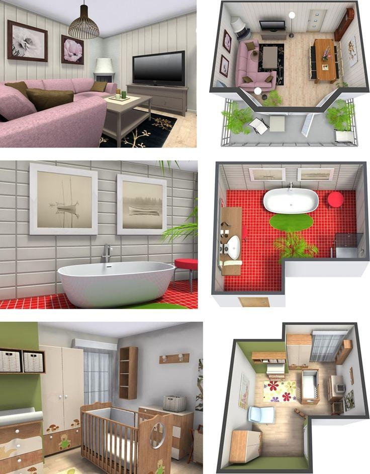 10 Best Designs of RoomSketcher; A Wonderful 3D Design Application - http://