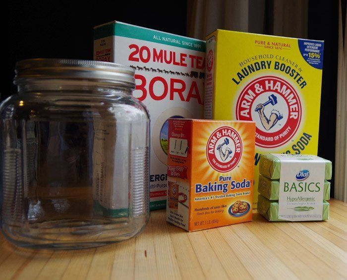 All Natural Laundry Detergent Recipe Homemade Laundry Detergent
