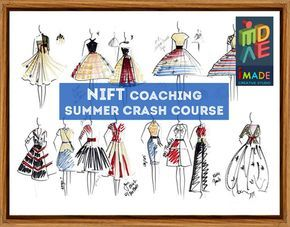 NIFT Coaching Classes for 1st round Written test and 2nd round Situation test. Learn from M.DES, New Delhi alumni -Fresh Approach to teaching -Updated course materials -Previous year question papers and Mock tests -Experienced Faculty -Previous good track record of students Call: 9818494593 http://www.imadecreativestudio.com/courses.php?c=nift