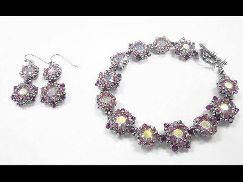 Jewel School Kit Project: Date Night Earrings and Bracelet - YouTube