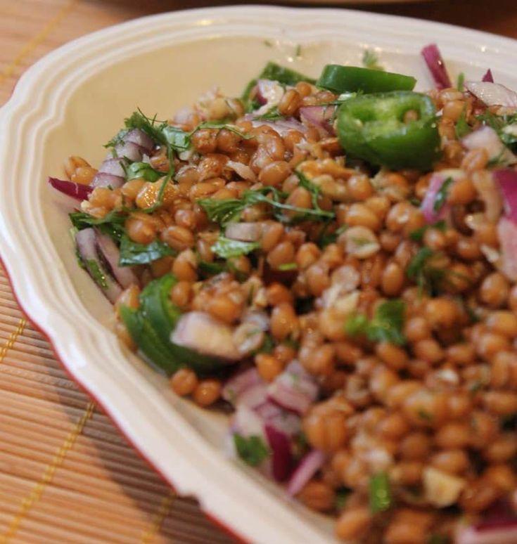 Buğday Salatası                        -  Nesrin  Kismar #yemekmutfak