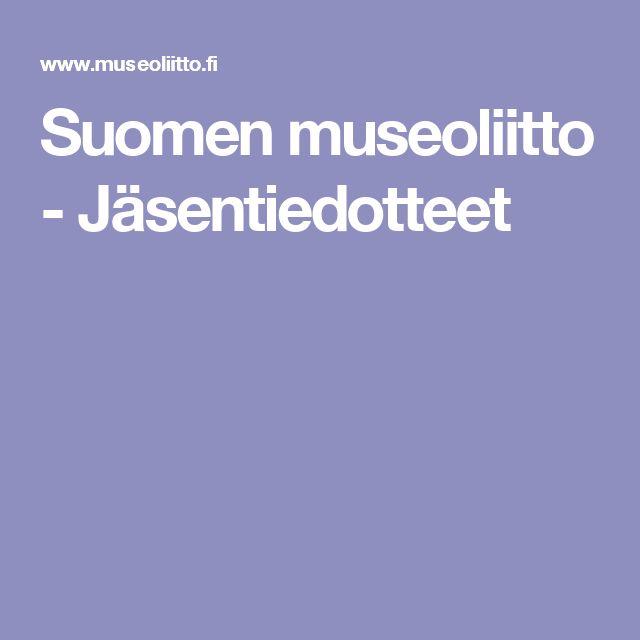 SUOMEN MUSEOLIITON SUOSITUS: MUSEOVIERAIDEN AVUSTAJILLE VAPAA SISÄÄNPÄÄSY