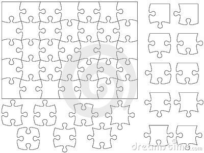 173 best Thatu0027s Puzzling images on Pinterest Jigsaw puzzles - blank puzzle template