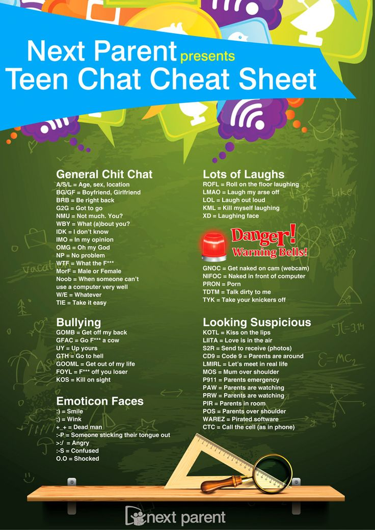 Parents teen chat room