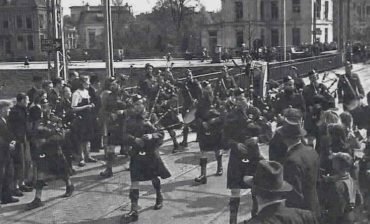 Liberation of Groningen, where my family is from, 1945