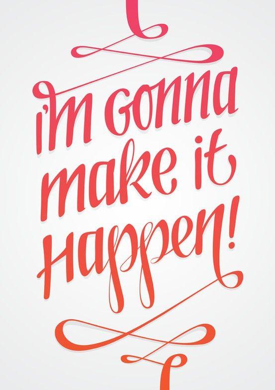 Make it happen! #workout #motivation