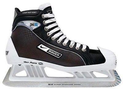 Men 26345: Brand New Bauer Supreme One95 Goalie Skates, Senior Size 7.5 -> BUY IT NOW ONLY: $300.0 on eBay!