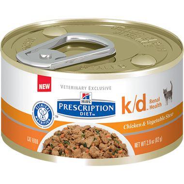 Hill's Prescription Diet Feline k/d with Chicken  24 count $32.99 unit price: $1.37