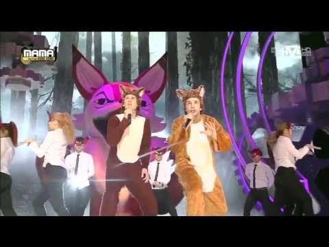 일비스(Ylvis) - The Fox at 2013 MAMA [2013 Mnet Asian Music Awards] 2013.11.22 at AsiaWorld-Expo, Arena Wanna know more about your favorite K-pop artist? - Foll...
