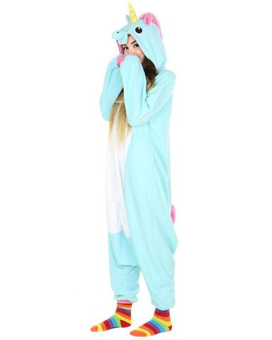 032811cafbcd BLUE UNICORN ONESIE at Shop Jeen - SHOP JEEN
