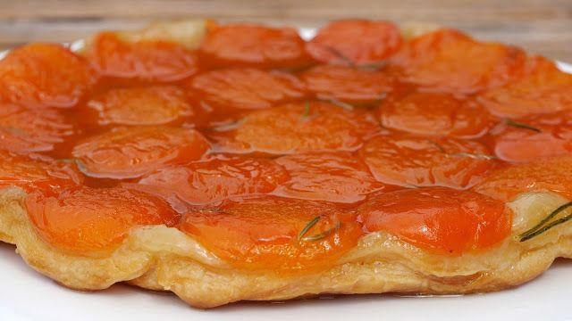 Tarte-Tatin mit Aprikosen