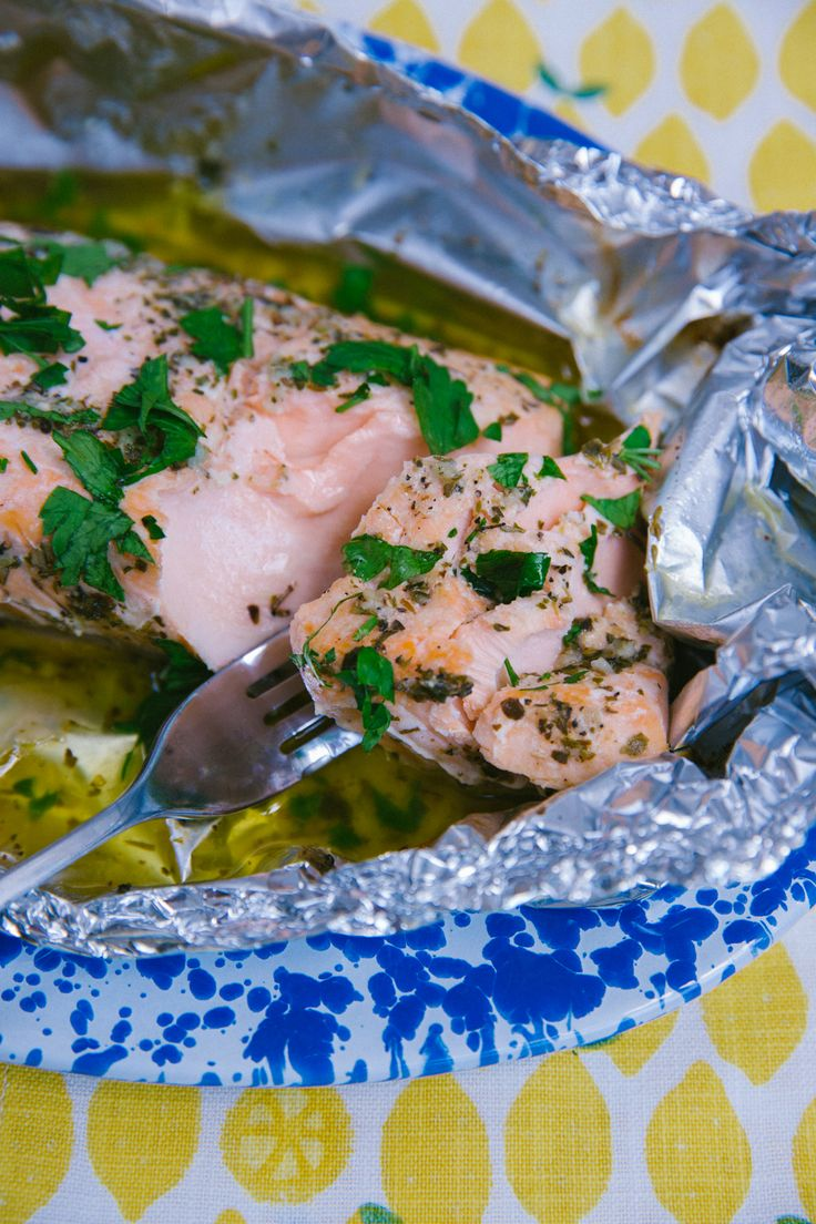 Garlic Butter Salmon – The Londoner