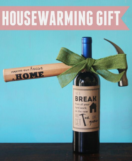 Hammer Amp Wine Housewarming Gift Corporate Gifts House Warming Client Gifts