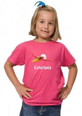 Camiseta Ishani Aviones Disney