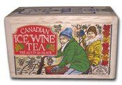Canadian Ice Wine Tea 25 tea bag softwood chest - http://teacoffeestore.com/canadian-ice-wine-tea-25-tea-bag-softwood-chest/