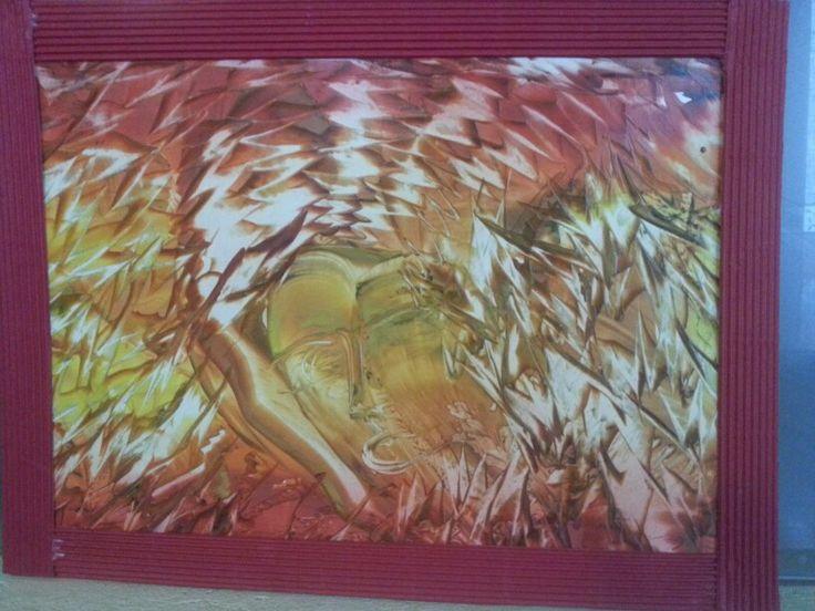 #l'anima del fuoco# calendario vigili del fuoco volontari di Taio Trento Italy 2014 # opera di Alessia Bergamo (R)#