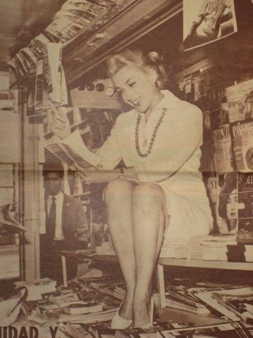 Bonita Actriz Mexicana (chilanga) Evangelina Elizondo, the Marylin Monroe of Mexico