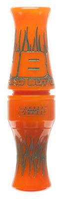 Zink Calls Nothing But Green Duck Call - Orange Marbleade