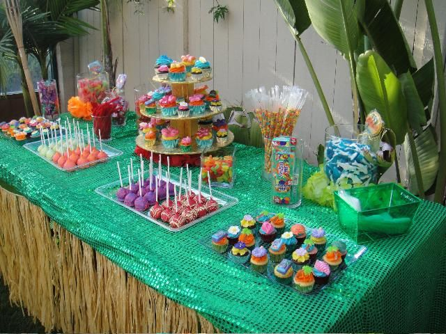 menu with tropical themes | Hawaiian Party Theme - The Best Theme for Your Party |Articles Web