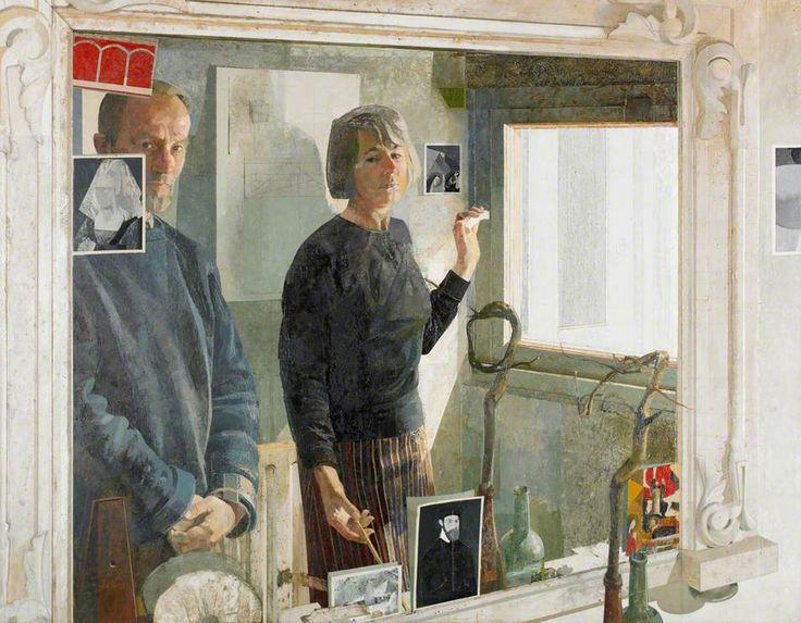 Norman Charles Blamey In the Cellar Mirror